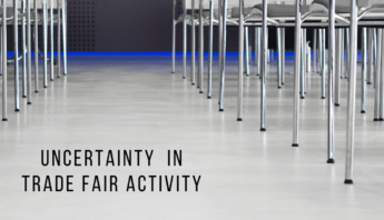 Uncertainty in trade fair activity